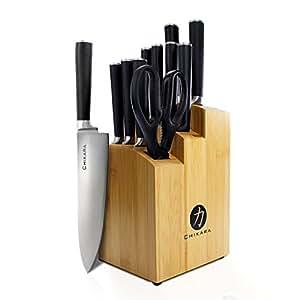 Amazon.com: Juego de cuchillos Ginsu de acero inoxidable ...