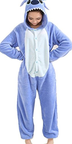 Party Unisex Fancy Adulto da Renee Tuta Outfit Dress Pigiama Pigiama Anime Abbigliamento Felpa Animal Costume Halloween notte Cosplay q1dZ5d