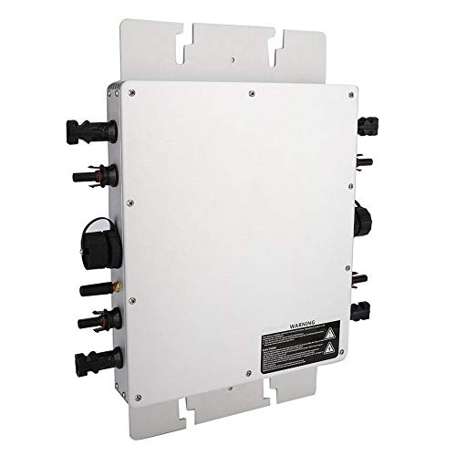 Solar Grid-tie Micro-Wechselrichter, WVC-1200W Micro-Wechselrichter Power Pure Sine Wave Photovoltaic Inverter Power