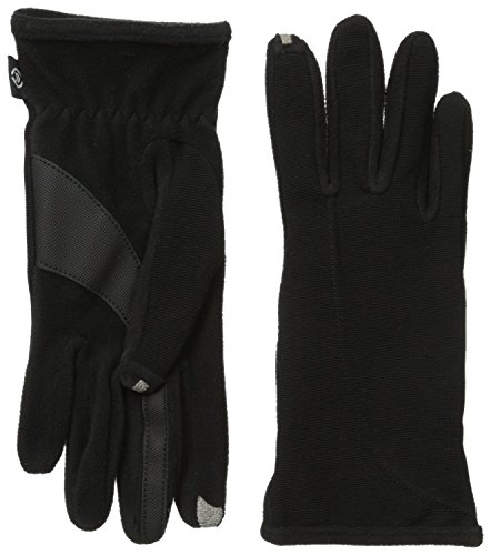 isotoner-womens-smartouch-stretch-ottoman-glove-black-one-size