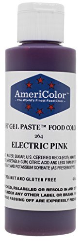 Americolor Paste Color 4 5 Ounce Electric product image