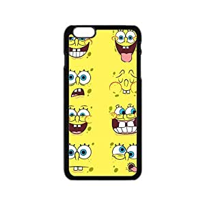 SANYISAN Cute Sponger Bob Various Expression Black iPhone 6 case