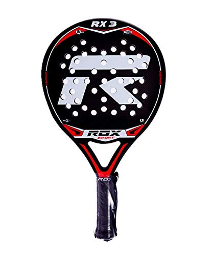 Amazon.com : ROX RX3 Padel Tennis Racquet, Unisex Adult ...