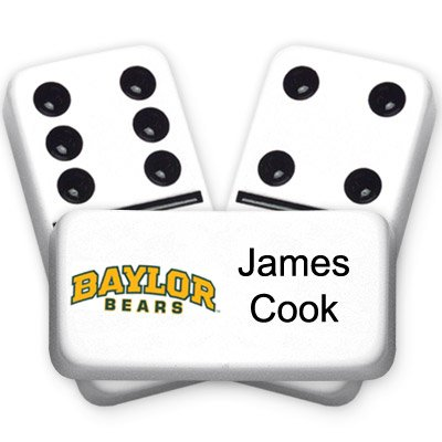University Series Custom Text Dominoes]()