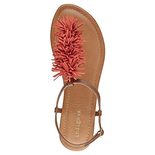 Indigo Rd. Latita Women Us 8 Sandalo Marrone Antracite