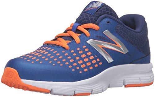 New Balance KJ775V1 Youth Running Shoe (Little Kid/Big Kid) Blue/Orange