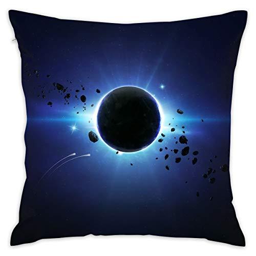 (Karen Felix Throw Pillow Covers Eclipse Decorative Cushion Case for Sofa Bedroom Car 18 X 18 Inch 45 X 45 cm)