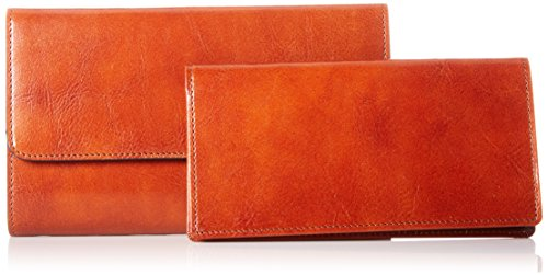 Old Leather Amber Wallet Framed Bosca Clutch Womens Checkbook O4wxqEZ6E5