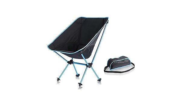 RFVBNM Silla de camping Asiento al aire libre plegable ...