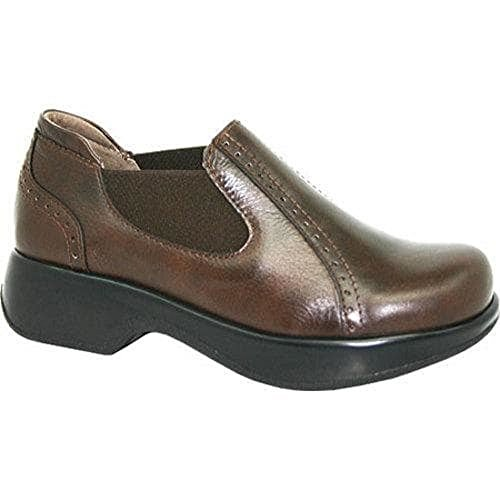 Dromedaris Womens Falcon Clog Brown zEIKM8g