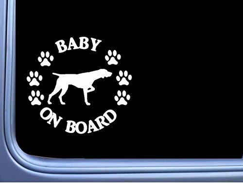 Baby on Board German Shorthair Pointer L533 6