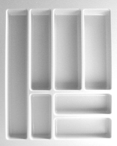 Besteckeinsatz UNIVERSAL45 mit 7-Facheinteilung (B 350-399 x T 437-496 mm) / Besteckkasten / Besteckeinsätze