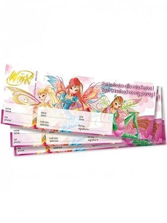 Einladungskarten * Winx Bloomix * 20 Stück: Amazon.de: Spielzeug