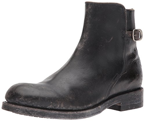 FRYE Men's Folsom Moto Motorcycle Boot, Black, 9 M ()
