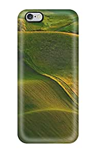New Design Shatterproof VTHOmPM2909DdaXy Case For Iphone 6 Plus (waves Of Green Hills)