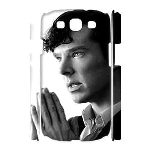 C-EUR Benedict Cumberbatch Customized Hard 3D Case For Samsung Galaxy S3 I9300 Kimberly Kurzendoerfer