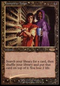 Dci Foil (Magic: the Gathering - Vampiric Tutor Foil - DCI Judge Promo - Judge Promos -)