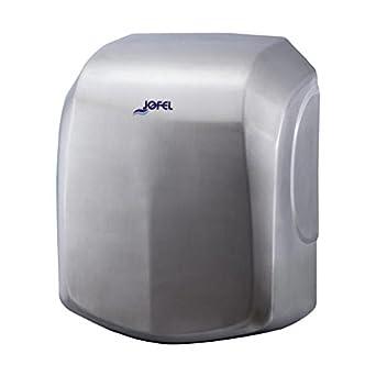 Jofel AA18500 - Secamanos Ave Alto Rendimiento, Inox Satinado, 1500W: Amazon.es: Industria, empresas y ciencia