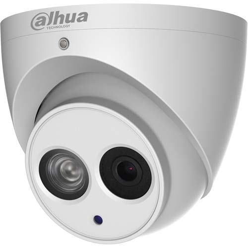 Dahua Pro Epoe 8MP IP Mini Eyeball Wdr IR 2.8mm Security Camera, White (N84CG52)