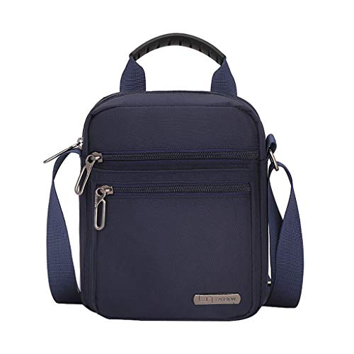 LEKODE Men Crossbody Bag Shoulder Handbag Purses