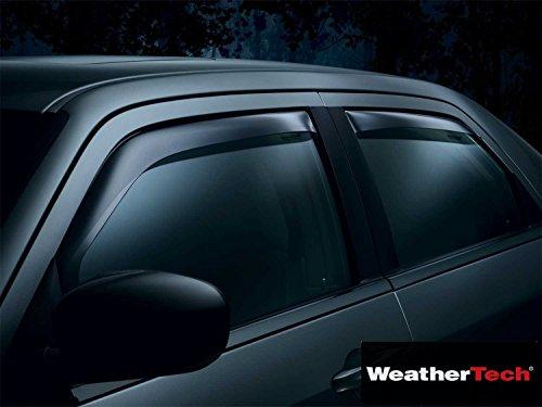Weathertech Side Window Deflector Visor Rainguard 4 pc. Dark Tint - Fits Chrysler Pacifica - 2004 2005 2006 2007 2008 | 04 05 06 07 08