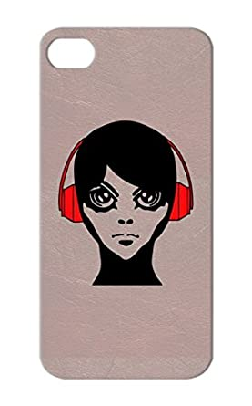 Scratch Resistant Red Jix Headphones By Gaijin Manga Anime Bishi Art