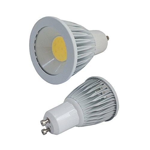 Lâmpada Led Dicróica Gu10 Cob 3w Branco Quente Kit 35