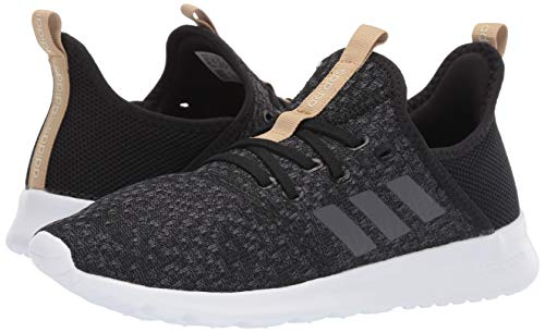 adidas Women's Cloudfoam Pure, Grey/Black, 5 M US by adidas (Image #5)