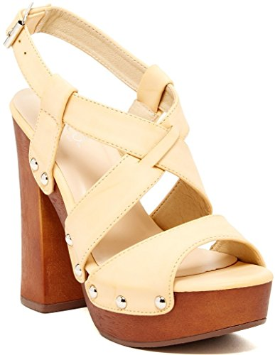 Bucco Erikine Womens Fashion Vegan Block Heel Wedge Sandals