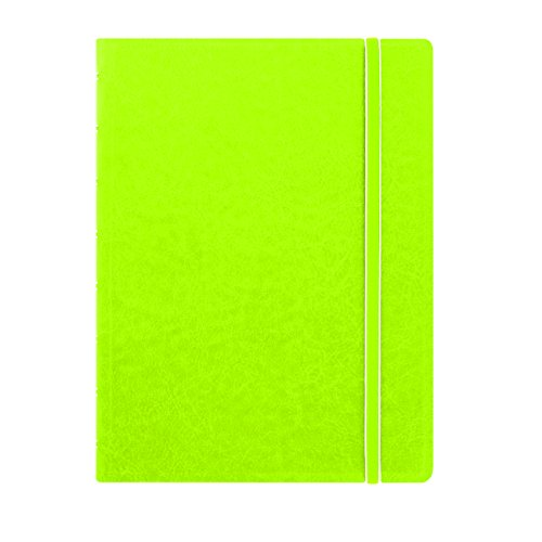 "Filofax A5 Notebook, 8.25"" x 5.12"", 112 Ruled Pages, Pear (B115013U)"