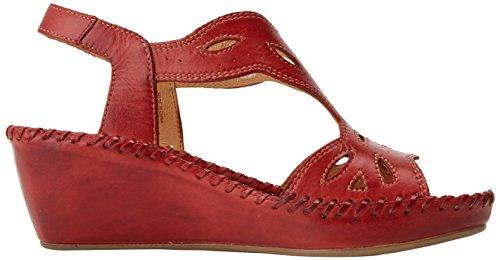 Pikolinos 943 Rosso alla Margarita Cinturino Sandali Caviglia Coral con Donna rC8wgr57qT