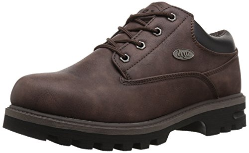 Lugz Men's Empire Lo WR Thermabuck Boot Coffee/Black outlet pictures cheap prices reliable TDaYWkoyZ