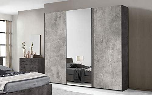 Dafnedesign.Com - Dormitorio completo - Óxido, cemento (cama de ...