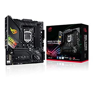 ASUS ROG Strix Z490-G Gaming (WiFi 6) Z490 LGA 1200 (Intel 10th Gen) SFF Micro ATX Gaming Motherboard (12+2 Power Stages, Intel 2.5 Gb Ethernet, Bluetooth v5.1 and Aura Sync)