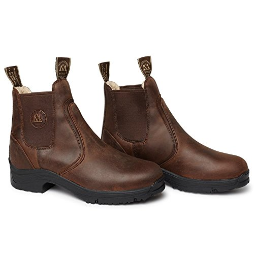 River Ladies Jodhpur Boot Brown Snowy Brown Mountain Horse XPqBE