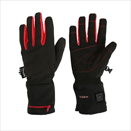 Heated Waterproof Motorcycle Gloves - 1
