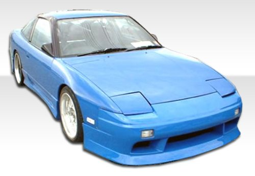 1989-1994 Nissan 240sx 2DR Duraflex V- Speed Kit- Includes V-Speed Front Bumper (100886), V-Speed Rear Bumper (100853), and V-Speed Sideskirts (100887). - Duraflex Body (240sx V-speed Rear Bumper)