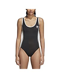 adidas Women's Originals 3-Stripes Bodysuit