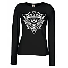 T shirt women Skull Shooter - shooting presents, hunting gifts