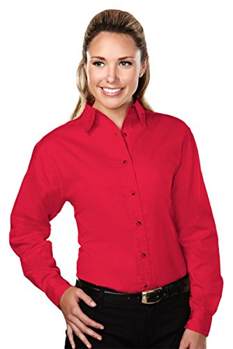 - Tri Mountain Women's 762 Specialist Twill Shirt with Dupont Teflon Fabric Protector