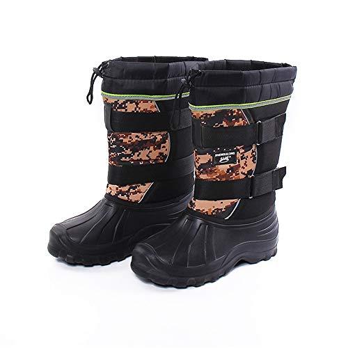 antiscivolo Boot scarpe resistenti stivali EU da Tube da Stivali mimetici Colore 42 Marrone e Leggero neve pioggia Short Dimensione Marrone all'usura Hunter 8Pqwr6x8