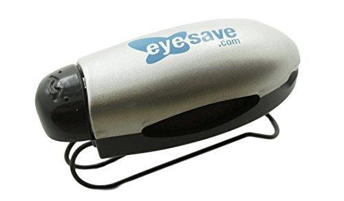 Eyesave Accessories - Car Visor Sunglass Clip / Silver Visor Clip with EyeSave.com logo-EyesaveVisorClip by - Eyesave.com