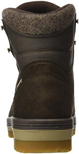 Lowa Isarco III GTX Mid, Stivali da Escursionismo Uomo Marrone (Dark Brown)