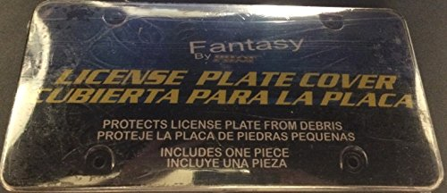 Smoked Acrylic License Plate Shield