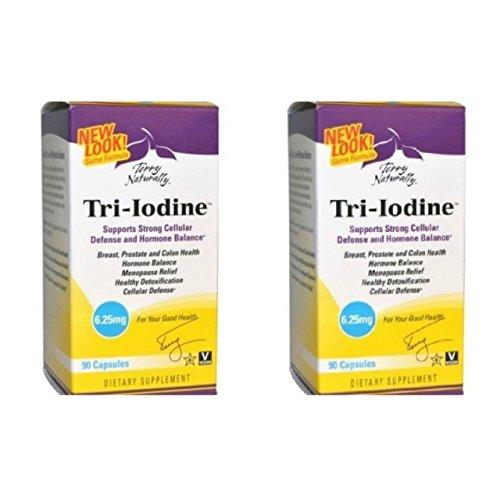 Europharma Terry - EuroPharma Terry Naturally Tri-Iodine 6.25 mg - 90 Capsules -2 Pack