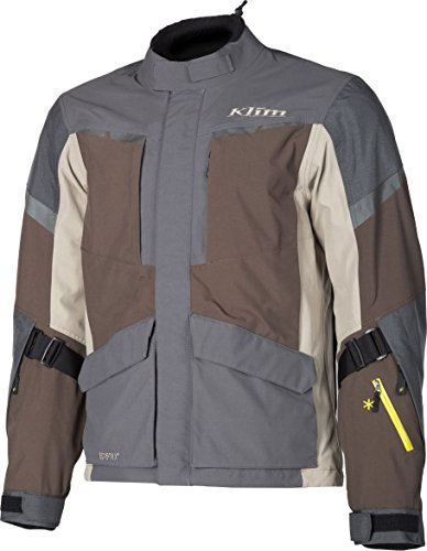 KLIM Carlsbad Mens Off-Road Motorcycle Jackets - Brown/X-Large