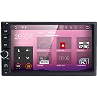 Best Wifi Model Android 7.1 Quad-Core 7 Inch Touch-screen Universal Car Stereo Video Receiver GPS Double 2 din GPS Navigation