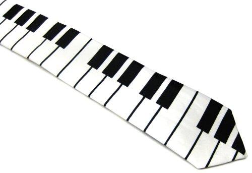 Piano Key Keyboard Music Tie Unisex (Tie Music)
