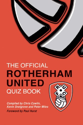 fan products of The Official Rotherham United Quiz Book