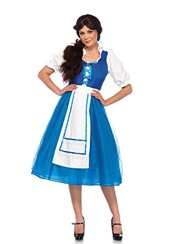 Costumes Beast Belle Beauty The And (Village Beauty Adult Costume -)